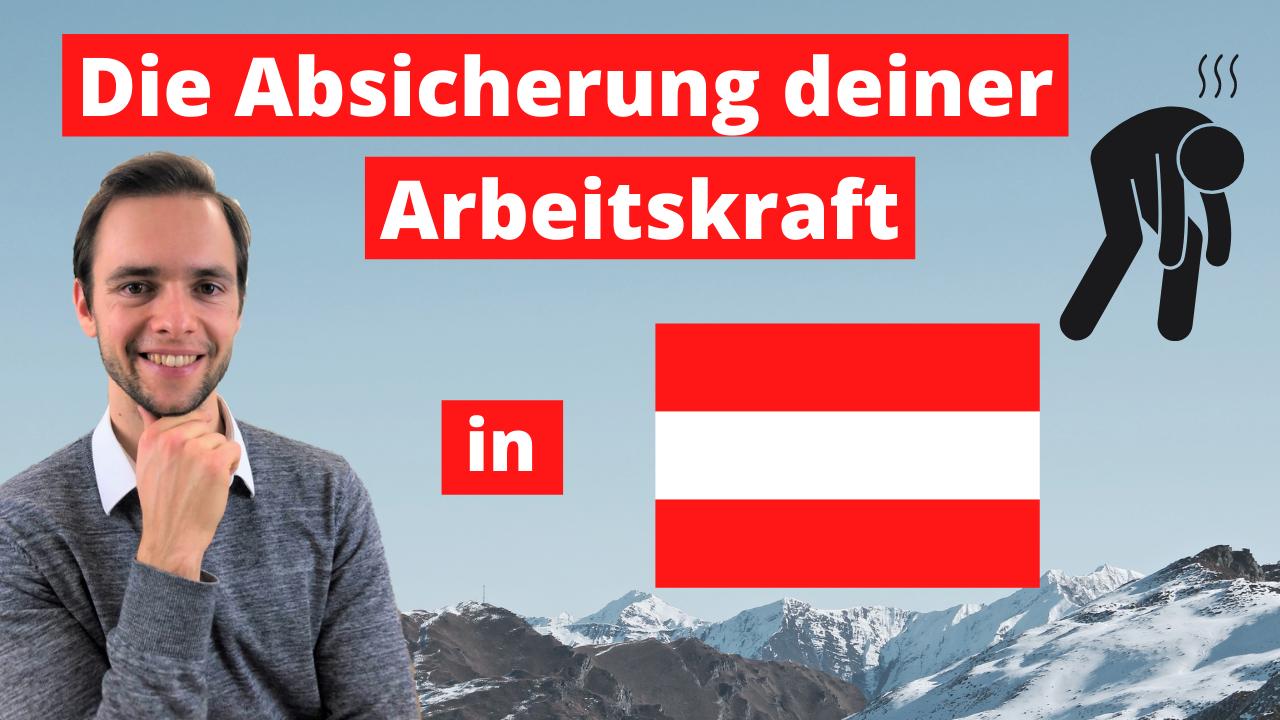 Berufsunfähigkeit Österreich
